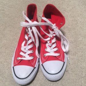 Red Airwalk Shoes